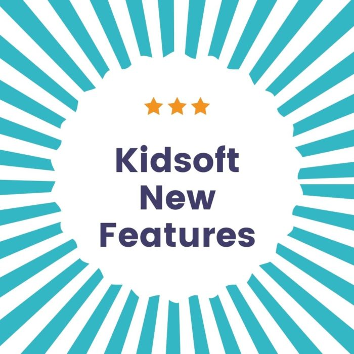 New Features within Kidsoft