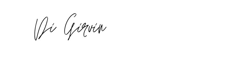 Di Girvin signature